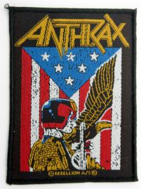 Anthrax - 'Judge Dredd' Woven Patch